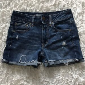 Jean shorts perf for summer